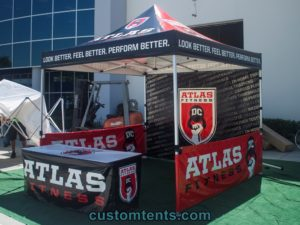 Full Color Commercial Tents Printing