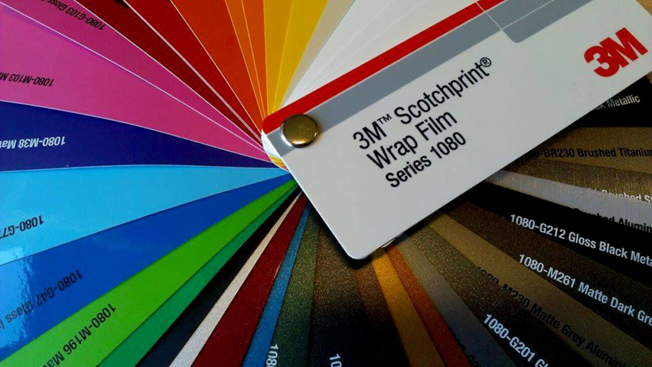wrap film samples