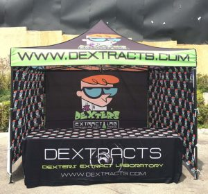 custom tent print